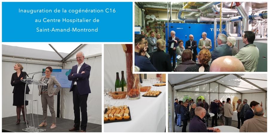 Inauguration de la cogénération C16