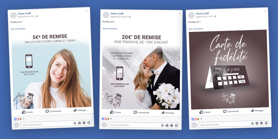 Claire coiff coupon remise