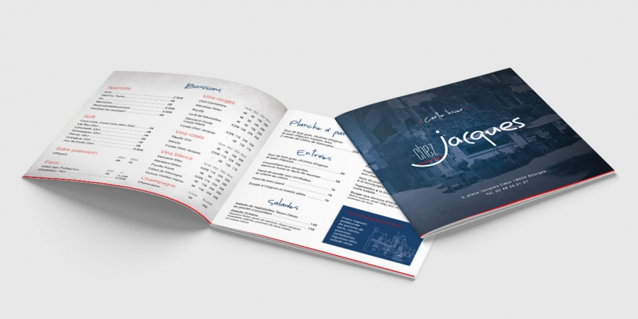 Chez Jacques carte Hiver