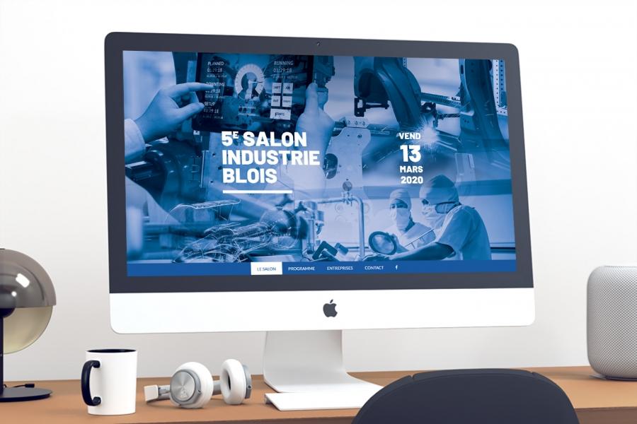 Salon Indiustrie Blois site internet