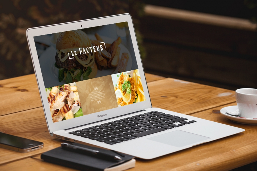 Groupe Chauvineau Site format Desktop